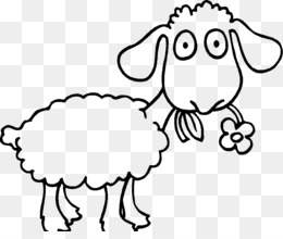 Christmas Coloring Pages Png Free Download Happy Family Cartoon Lamb Outline Png Printable