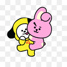 Bt21 Png Free Download Happy Heart Chimmy Png Bt21 Jimin